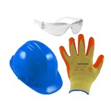 Safety Pack - HARD HAT COLOURS MAY VARY