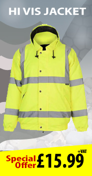 Safety Hi-vis_double_band_bomber jacket Proof