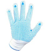 Blue Dot Picker's Gloves