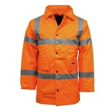 Hi Vis Parker Traffic Jacket  Orange