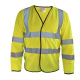 Hi Vis Long Sleeve Vest