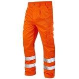Hi Vis Polycotton Work Trousers