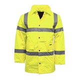 HI VIS WATERPROOF PARKER JACKET