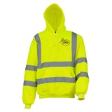 Hi Vis Hoody Yellow size Medium