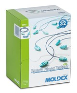 MOLDEX Spark Plugs Detect Corded Earplugs SNR 32 dB