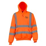 Hi Vis Hoody Orange size Large